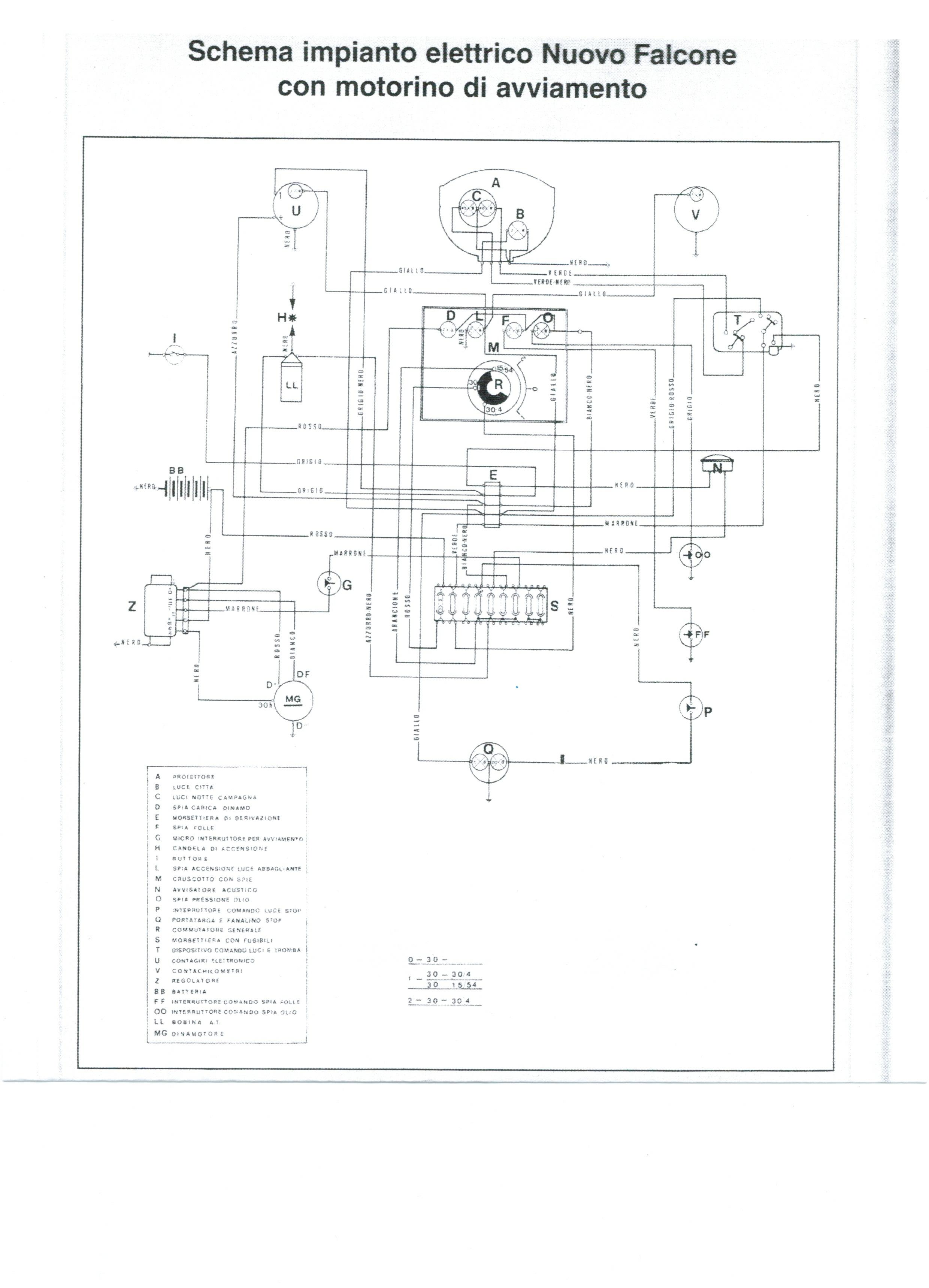 Schema Elettrico Motorino Avviamento : Rep dinamomotore